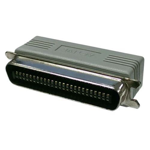 Scsi Terminator External Adapter Scsi 1 Active W/ Led Centronics 50-pin Male