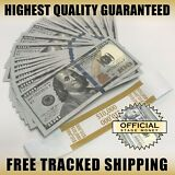 $10,000 Top Quality Stack - Film, Movies, TV, Music Videos Play Stage Fake Money