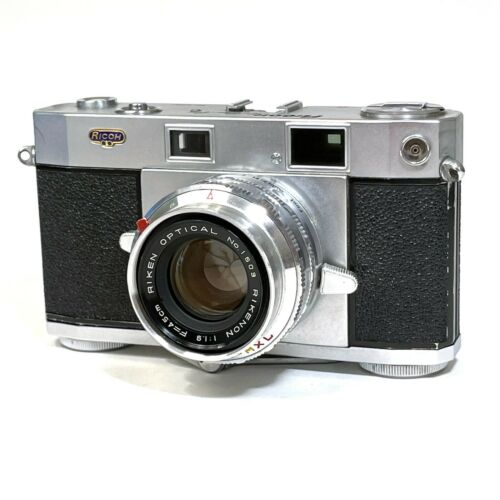 :Ricoh Five One Nine 519 35mm Film Rangefinder Camera w/ 45mm f1.9 Lens