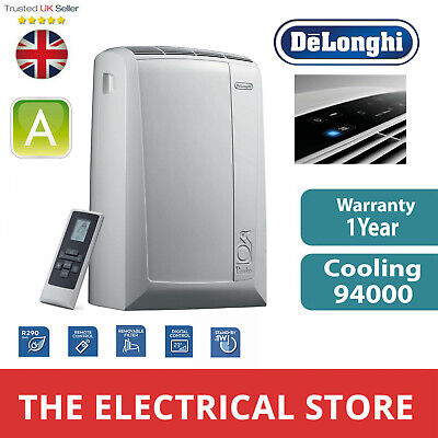 Portable Air Conditioning Unit Digital Control Delonghi PAC N82 ECO White