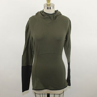 Lululemon Women's Green Hooded Active Sweater Size M