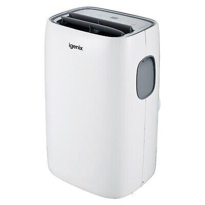 Igenix IG9922 4-in-1 Portable Air Conditioner, Cooling, Fan, Dehumidifier