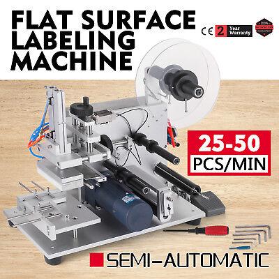 Semi-automatic Labeller Lt-60 Labeling Machine 110v Flat Surface Tool Cosmetics