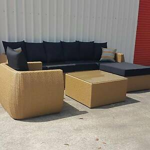 IN STOCK! Outdoor Rattan Modular Lounge Wicker Garden Sofa Set Kenmore Brisbane North West Preview