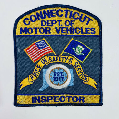 Connecticut Department of Motor Vehicles Patch