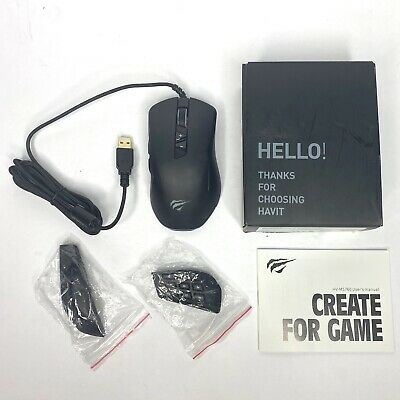 Havit Gaming Mouse 12000 DPI Wired Mice with 14 Programmable Buttons HV-MS760