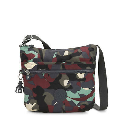 Kipling Arto Printed Crossbody Bag Camo L