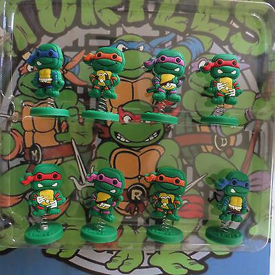 Ninja Turtles Teenage Mutant Birthday Cake Topper (Set Of 8pc) 1/4