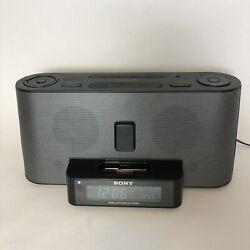 Sony Dream Machine AM/FM Alarm Clock Radio 30-pin iPod Dock icf-c1ipmk2