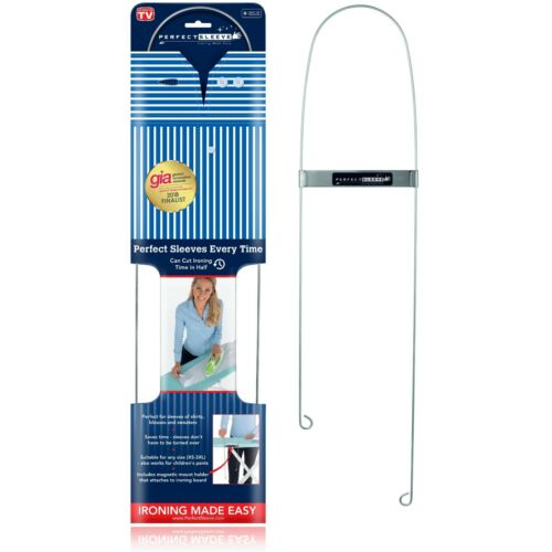 Perfect Sleeve Ironing Assistant for Wrinkle-Free Shirt Sleeves, Includes Magnet