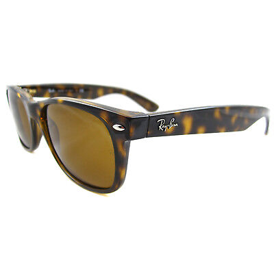 Ray-Ban Sonnenbrille Neu Wayfarer 2132 710 Hellbraun Braun Klein 52mm