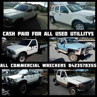 We Want to Buy Your Old Ute - All Commercial Wreckers