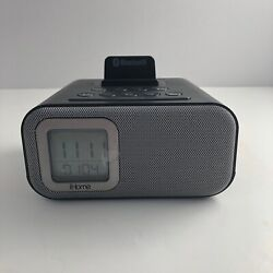 iHome IBT22A Bluetooth Bedside Dual Alarm Clock 1111 Great Shape!