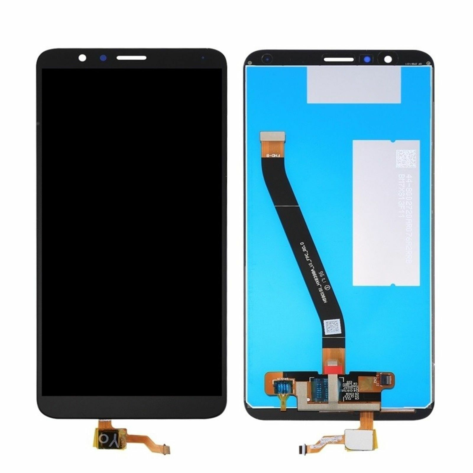DISPLAY LCD +TOUCH SCREEN PER HUAWEI HONOR 7X NERO VETRO BND-L21 TL10 AL10 NUOVO