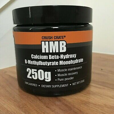 HMB Powder 250g Unflavored, Bodybuilding Gain Muscle Amino Acid Grow Muscle