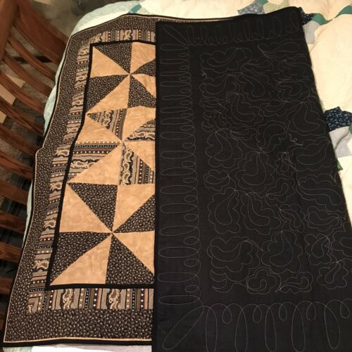Handmade Cotton Quilt 58 X 46  - $75.00