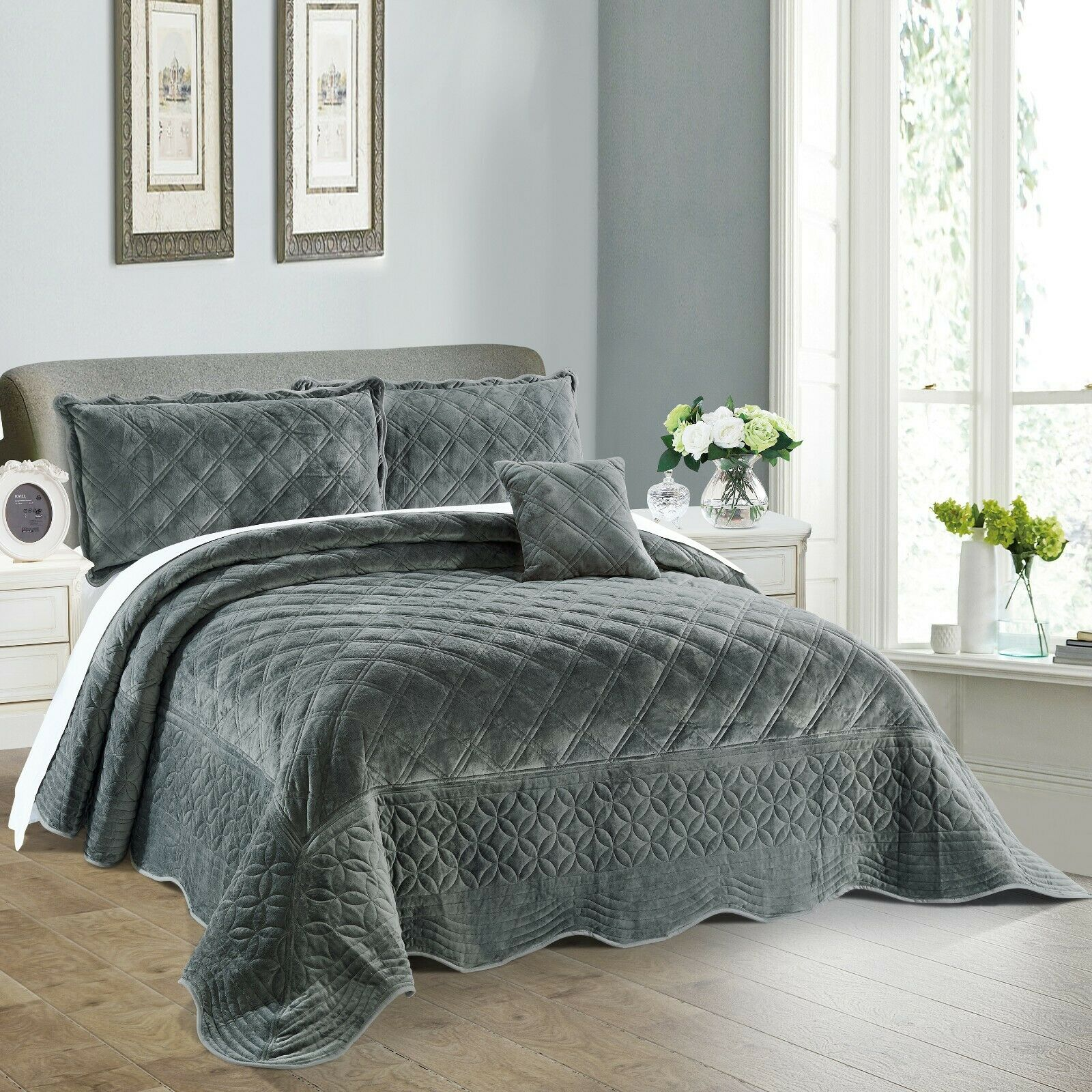 Home Soft Things Serenta Supersoft Bedspread Quilts Coverlet