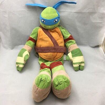 """Leonardo Teenage Mutant Ninja Turtles Nickelodeon Plüsch 24"""" Kissenbezug"""
