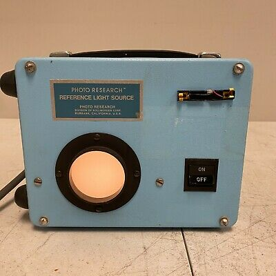 Astronautics Equip Photo Research Light Source Ta153 Vintage Nostalgic Rare