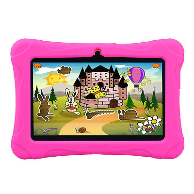 7'' Google Android Tablet PC 16GB HD Quad Core Dual Camera WiFi Bundle for Kids