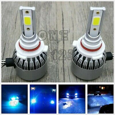 9005 HB3 CREE LED Headlight Bulb Conversion Kit High/Low Beam 8000K Ice blue 55W