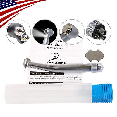 Nsk Style Dental Led E-generator High Speed Handpiece Steel Bearing 4 Hole Ybm