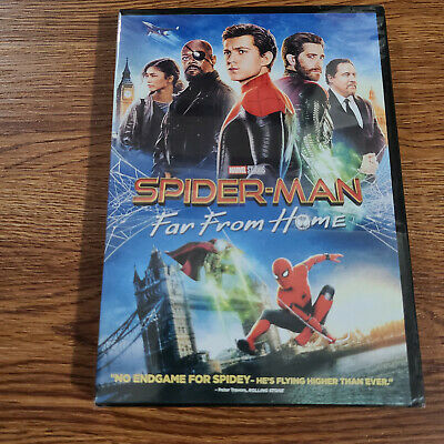 SPIDER-MAN Far From Home DVD 2019 Brand New Factory Sealed Free Shipping USA