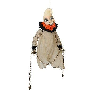 Bethany Lowe Dexter The Hexter Ghost Hanging Vintage Style Retro Halloween Decor - Dexter Halloween Decorations
