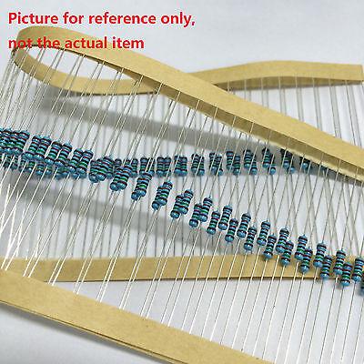 1000pcs 14w Watt Five Band Code Metal Film Resistor 1 From 1 Ohm To 10m Ohm