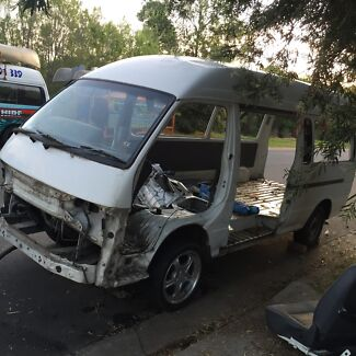 Toyota Hiace Commuter bus body , has gearbox and diff ,  Albury Albury Area Preview