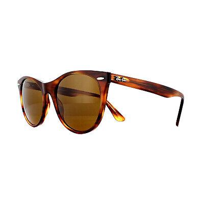 Ray-ban Sonnenbrille Wayfarer II RB2185 954/33 Gestreift Brown Klassisch B-15