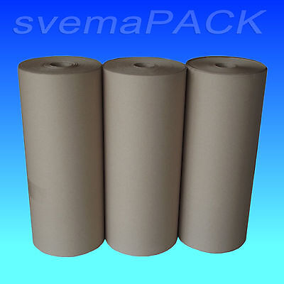 3 x10 kg Rollen Packpapier Knüllpapier Secare Rollen 50cm x 200lfm 100g/m²  OVP