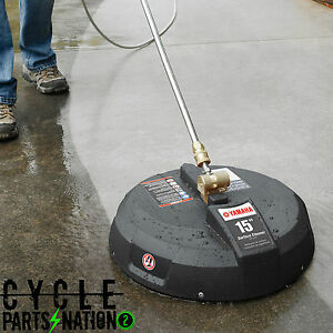 yamaha 15 power pressure washer surface concrete cleaner