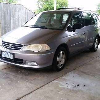 2002 Honda Odyssey 7 seat Automatic 4 cylinder