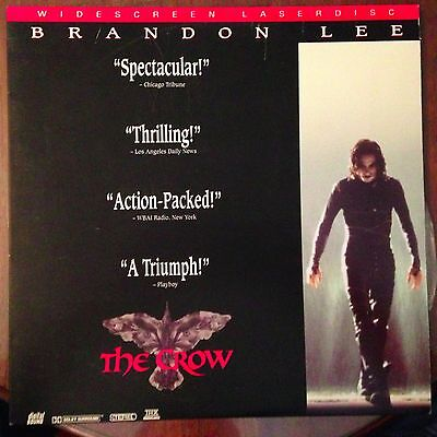 The Crow - Widescreen  Laserdisc Buy 6 for free shipping