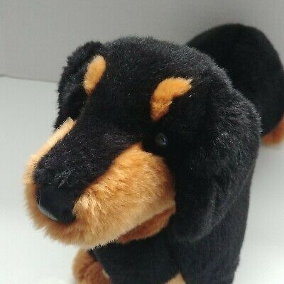 Spats, Gaiters, Puttees – Vintage Shoes Covers Douglas Cuddle Toy Spats Black Tan Dachshund Weiner Dog Plush Realistic #2002  $19.99 AT vintagedancer.com