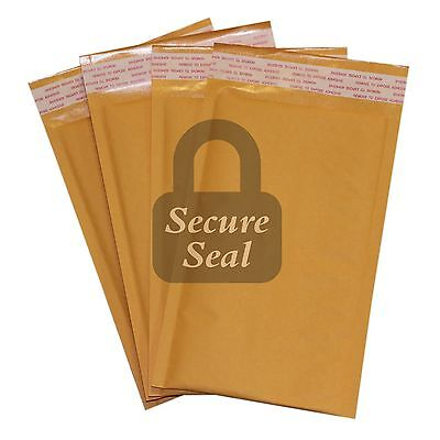 15 00 5x10 Kraft Bubble Mailers Self Seal Padded Shipping Envelopes 5x10