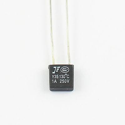10pcs New Rh Thermal Fuse Cutoff Tf 130 250v 1a