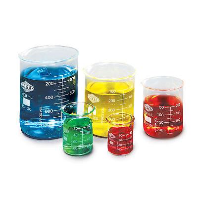 Low Form Glass Beaker Set 1 Ea