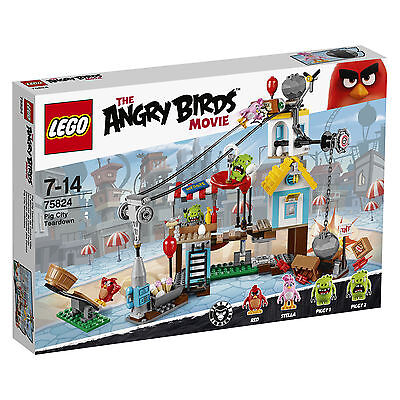 LEGO® The Angry Birds™ Movie 75824 Pig City Teardown NEU OVP NEW MISB NRFB