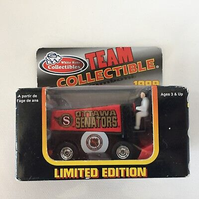 1999 White Rose Team Collectible NHL Ottawa Senators Limited Edition Zamboni for sale  Belwood