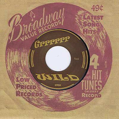 UNKNOWN ARTIST - SCREAMIN' (WILD UNISSUED 1950s MEXICAN ROCKABILLY JIVER) REPRO