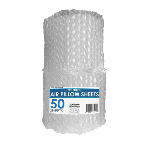 10x12 Air Pillows Sheets 50 Count Package Dunnage Shipping Cushioning Packing