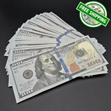 THE BEST PROP MONEY - 25x $100 Bills - $2,500 Play Fake Funny Prank Joke Money