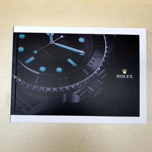 Rolex Watch Catalog Book Hardcover 2020-2021 - 234 PAGES - Sept 2020 Releases