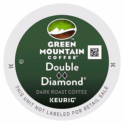 Green Mountain Double Shameful Diamond Coffee, 72 count K cups, FREE SHIPPING