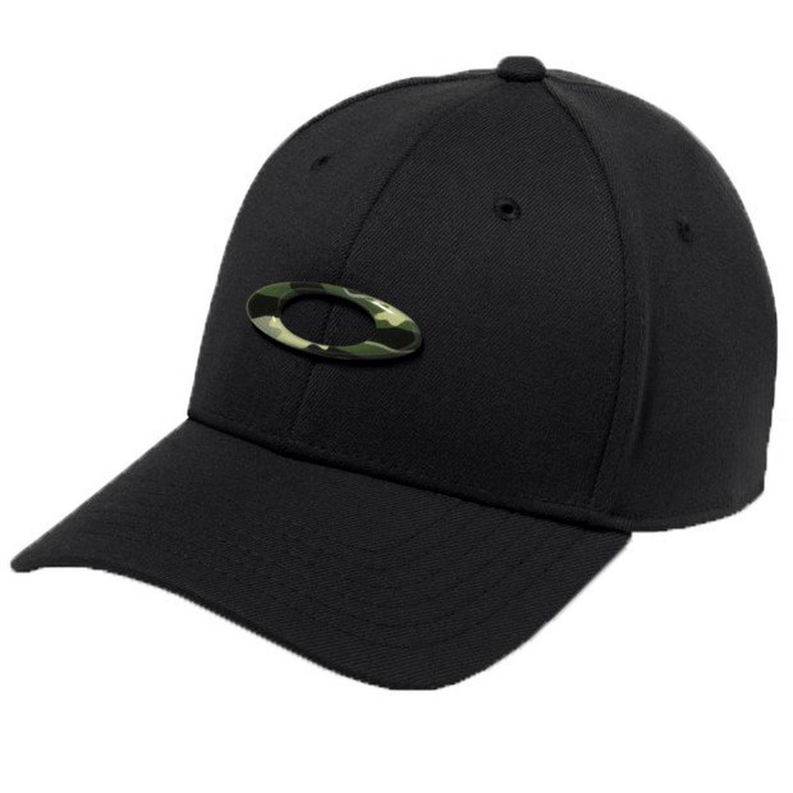 Oakley Tincan Men's Cap Baseball Hat Stretch Fit Graphic Cam