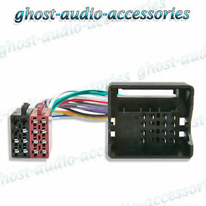 bmw 3 series 2001 2002 e46 iso radio quadlock wiring harness adaptor ebay