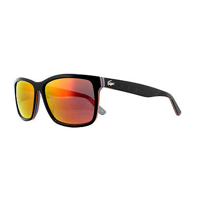 Lacoste Sunglasses L705S 003 Black Grey Red Mirror