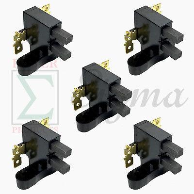 5 Pcs Carbon Brush Fits Coleman Powermate Generator 0064523 Td1421-b98-0000